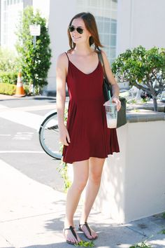 The Best College Street Style Snaps From UCLA & USC #refinery29 http://www.refinery29.com/usc-ucla-college-campus-street-style#slide1 Name: Leah Stofko Campus: USC What She's Wearing: Zara shorts, vintage T-shirt, bag purchased in Monaco, Sam Edelman sandals, David Yurman ring, Ray-Ban sunglasses.