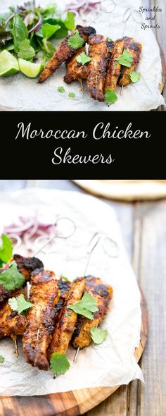 These Moroccan style chicken skewers are a must. They are simple to make, taste delicious and are pretty much zero effort! The hardest job you have is pushing the chicken onto a skewer! All the work is done by the wonderful mix of spices that take plain chicken into a taste explosion! Served for dinner or as nibbles with drinks on game day!!! These are perfect for all the family.
