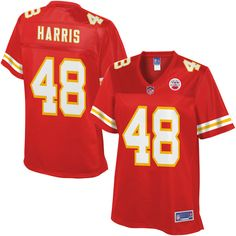 NFL Jerseys SALES 2017 Women's Kansas City Chiefs Vernon Harris NFL Pro Line Red Player Jersey nfl shop Browns DeShone Kizer jersey