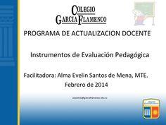 Instrumentos de evaluación pedagógica by Almaevelin1 via slideshare
