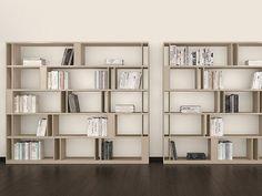Sectional bookcase BRERA BRERA Collection by EmmeBi design Lievore Altherr Molina