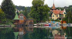Millstatt – herrlich locker...  Das Städtchen ist ein gemütlicher Ausgangsort, um See und Berge zu erkunden. In Millstatt und Umgebung ist immer für Abwechslung gesorgt. (Im Bild die Villa Verdin und ein schönes altes Bootshaus)