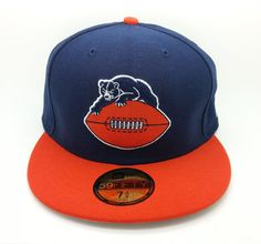 CHICAGO BEARS HISTORIC NFL NEW ERA 59 FIFTY LOGO FITTED HAT/CAP (SIZE 7 3/4)-NEW #NEWERA59FIFTY #ChicagoBears