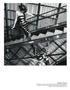 Daria Werbowy's cover for Vogue Paris