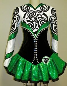 Inspiration for a doggie dress--Design your own Irish Dancing Dress | Gracie's world