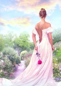 The Art of Chris Cocozza - Romance Gallery Romance Arte, Gods Princess, Photo Star, Painted Canvas Shoes, Romance Novel Covers, Painting Of Girl, Book Cover Art, Beauty Art, Portrait Art