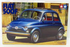 Fiat 500F Tamiya Sports Car Series 89655 - 1/24 scale