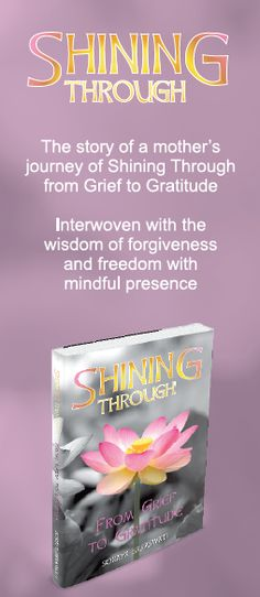PRE-SALES on signed copies of my new book Shining Through - From Grief to Gratitude Available now www.sorayasaraswati.com