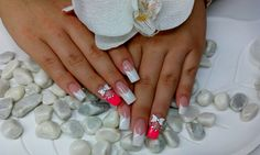 Gelnaegel, Gelnails, French nails, French Naegel, Summernails French Nails, French Tips, French Manicures, White Tip Nails