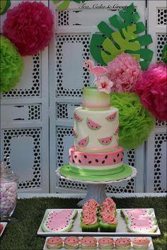 Tea, Cake & Create: Flamingo & Watermelon Birthday Party