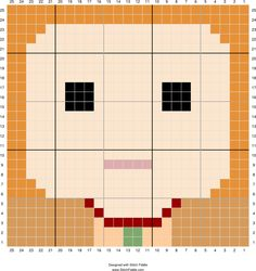 Molly Weasley   Designed by Autumn Edlin   Stitch Fiddle - Stitch Fiddle