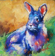 An Original Fine Art Gallery by Daily Paintworks Bunny Art, Process Art, Nature Animals, Fine Art Gallery, Animal Paintings, Watercolor Art, Painting Abstract, Pet Birds, Art Projects