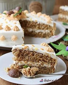 "Prajitura ""O noapte la Venetia"" - Lecturi si Arome Sweets Recipes, Cooking Recipes, Romanian Desserts, Something Sweet, Cupcake Cakes, Cupcakes, Carrot Cake, Cake Decorating, Caramel"