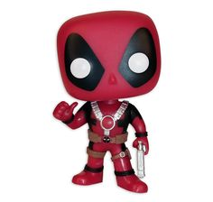 Marvel Pop! Vinyl Bobble-Head Figur Deadpool Thumbs Up. Hier bei www.closeup.de
