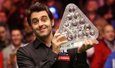 Ronnie O'Sullivan claimed his fifth Masters title at Alexandra Palace on Sunday night after beating defending champion Mark Selby at Alexandra Palace. I Still Love Him, My Love, Mark Selby, Ronnie O'sullivan, Bali, Alexandra Palace, Recreational Sports, Number Two, Memes