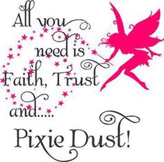 Fairies & Pixie Dust Quote - // Check out Fairies & Angels on Facebook >> https://www.facebook.com/FairiesandAngels1/ <<Click There 1/22/16