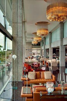 Giant glass walls at this sleek beach retreat let the light flood in. Amathus Beach Hotel Limassol (Limassol, Cyprus) - Jetsetter