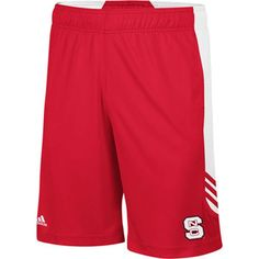 NC State Red ClimaLite Scorch Training Shorts