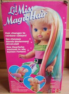 Lil Miss Magic Hair - I remember wanting this doll.