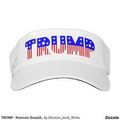 TRUMP - Patriotic Donald Trump Campaign Sun Visor
