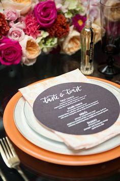 wedding plating idea; photo: Carla Ten Eyck