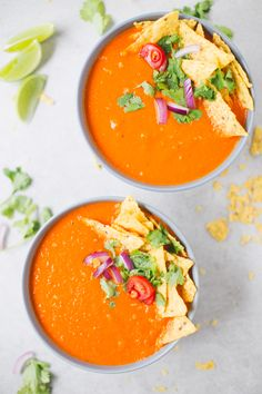 Mexican Style Tomato Soup
