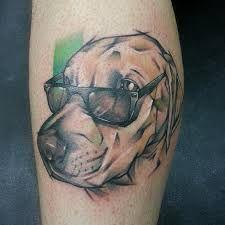Kết quả hình ảnh cho labrador tattoo