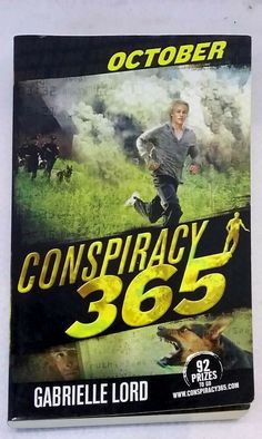 October by Gabrielle Lord Conspiracy 365 novel good used condition paperback