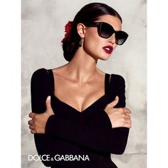Dolce Gabbana Eyewear Amazing Summer 2015 Campaign ❤ liked on Polyvore featuring accessories, eyewear, sunglasses, dot sunglasses, polka dot sunglasses, dolce gabbana sunglasses, summer sunglasses and dot glasses