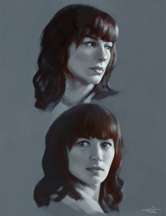 Hannah by euclase #spn eulcase is an amazing artist and I'm in love with Hannah