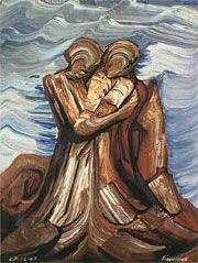 A painting I absolutely love by Mexican muralist David Alfaro Siquieros. I would love to own a print of this.