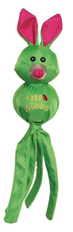 KONG Wubba Ballistic Friends Dog Toy - Large (Green) ** For more information, visit image link. (This is an affiliate link and I receive a commission for the sales) Kong Dog Toys, Dog Chew Toys, Small Dog Toys, Small Dogs, Green Rabbit, Best Dog Toys, Dog Itching, Dog Training Pads, Dog Shower