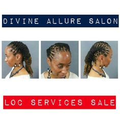 5 Basic Tips for Healthy Dreadlocks:  1. FIND A GOOD LOCKTICIAN 2. MASSAGE YOUR SCALP 3. DON'T RETWIST YOUR HAIR TOO MUCH 4. PRACTICE NIGHT CARE 5. BE PATIENT  All loc services is 20% OFF for the entire month of April !!! To book an appointment visit our website www.divinealluresalon.com or call the salon at (912)349-6604.  #divinealluresalon #locservicesale #entiremonthofApril #bookanappointment #tagafriend #aprilsale