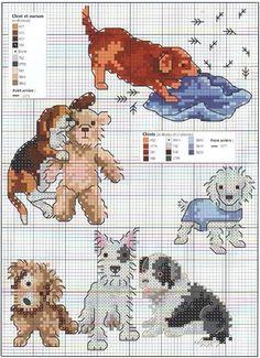 Obsessive Craft: Dog, puppy, cute, animal, köpek, cross stitch, xstitch, point de croix, punto cruz, diy, handmade, çarpı işi, etamin, needlework