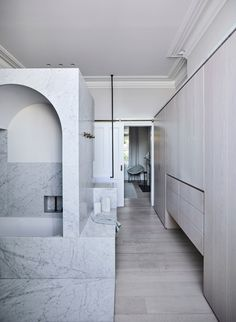 Regent by Smart Design Studio-Sydney Home Design Natural Light Inward - The Local Project Formal Living Rooms, Living Spaces, Design Studio, House Design, Royal Oak Floors, Victorian Terrace, Victorian Era, Front Rooms, Timber Flooring