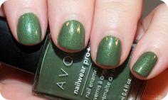 Avon Nailwear Pro+ Garden Green
