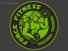 Force Fitness : welcome in the new year you should. Much training do you require? Force fitness we do not. Let it flow throw you. Size matters not.