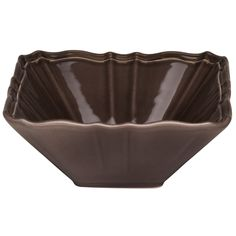 Red Vanilla Countryside Moka Square 10.5-inch Salad Bowl