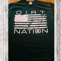Dirt Nation Racing Patriotic Racing T Shirt – Dirty Girl Racewear Race Car Track, Sprint Car Racing, Dirt Track Racing, Race Cars, Fox Racing, Redneck Clothes, Diy Clothes, Race Quotes, Chevy Girl