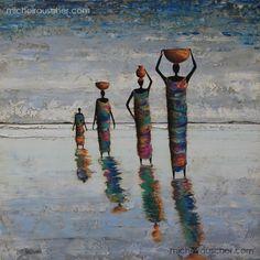Michel RAUSCHER | Peintures - Huile sur toile - 60 x 60 cm - 2012
