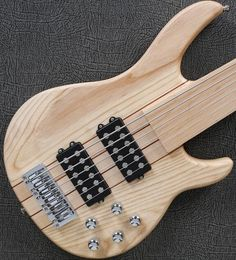 264.00$ Watch here - http://alihgm.worldwells.pw/go.php?t=32696673716 - 6 string fretless Active Electronics bass guitar neck through body bass guitar