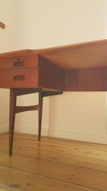 Retro Schreibtisch 50er 60er 70er Vintage Tisch Danisch 135x68x76