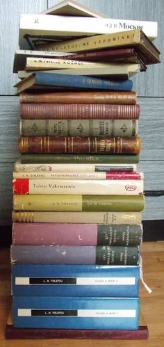 My collection of Tolstoy's books