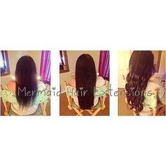 Mermaid Tape In Hair Extensions ! Mermaid Hair Extensions, Tape In Hair Extensions, Instagram, Beauty, Beauty Illustration