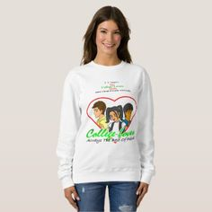 College Lovers Sweatshirt  $26.95  by sthaquemerch  - cyo diy customize personalize unique