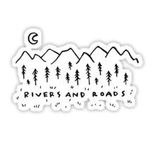 Rivers & Roads Sticker