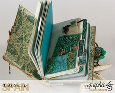 Tati, Voyage Beneath the Sea Book, Product by Graphic 45, Photo 9