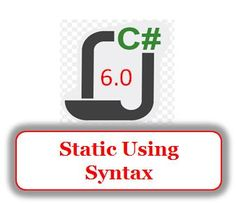 Static Using Syntax in C# 6.0