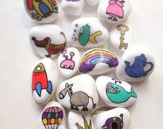 Story stones/ Waldorf and Montessory toys/