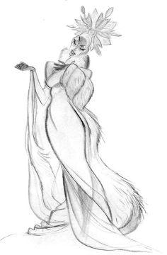 """Snow Queen"" from Walt Disney Animation Studio's ""Frozen"" by Minkyu Lee"
